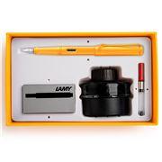 Lamy - Safari Special Ed. Mango Fountain Pen Gift Pack 4pce