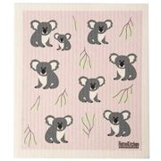Retro Kitchen - Biodegradable Dish Cloth Koalas