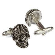 Onyx-Art - Contemporary Skull Cufflinks