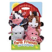 Melissa & Doug - Farm Friends Hand Puppets 4pce