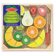 Melissa & Doug - Cutting Fruit Crate 17pce