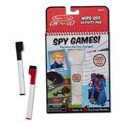 Melissa & Doug - Spy Games Wipe-Off Activity Pad