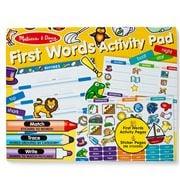 Melissa & Doug - First Words Activity Pad