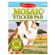 Melissa & Doug - Mosaic Sticker Pad Safari