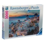 Ravensburger -  Evening In Santorini Puzzle 1000pce