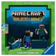 Ravensburger - Minecraft Builders & Biomes Board Game 194pce