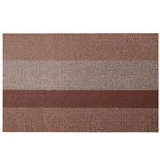 Chilewich - Bold Stripe Shag Doormat Small Peach