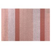 Chilewich - Bold Vertical Stripe Shag Doormat Peach