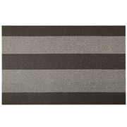 Chilewich - Bold Stripe Shag Doormat Small Pebble