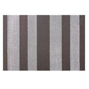 Chilewich - Bold Vertical Stripe Shag Doormat Pebble