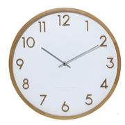 One Six Eight - Scarlett Silent Wall Clock White 35cm