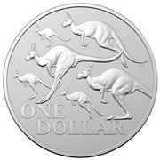 RA Mint - 2020 $1 Silver Frosted Uncirculated Coin Kangaroo