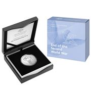 RA Mint - 75th Anniversary End of World War II $5 Coin