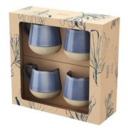 Robert Gordon -  Bottoms Up Mug Set Denim 4pce 400ml