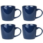 Robert Gordon - Granite Stoneware Mug Set Blue 4pce