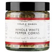 Cole & Mason - Whole White Pepper Corns 70g