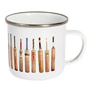 Sporting Nation - Bat Line Up Enamel Mug 400ml