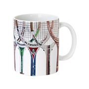 Sporting Nation - Racquet Line Up 2 Coffee Mug