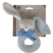 Maud N Lil - Oscar Donut Rattle Blue