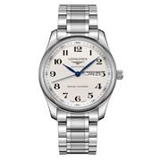 Longines - Master Collection Auto. S/Steel Silver Watch 40mm