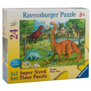 Ravensburger - Dinosaur Pals Super Size Puzzle 24pce