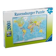 Ravensburger - Map of The World Puzzle 200pce