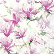 IHR - Lunch Napkin Magnolia Poesie White 20pce