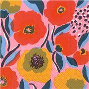 Marimekko - Rosarium Lunch Napkin Rose 20pce