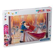 Clementoni - The Grand Ball Supercolor Puzzle W/Gems 104pce