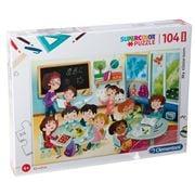 Clementoni - My Classroom Supercolor Puzzle Maxi Piece 104pc