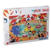 Clementoni - Crazy Circus Supercolor Puzzle Maxi Piece 104pc