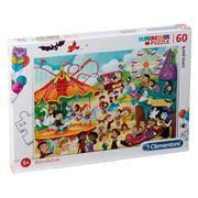Clementoni - Luna Park Supercolor Puzzle 60pce