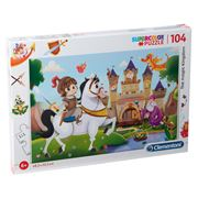 Clementoni - Magic Kingdom Supercolor Puzzle 104pce