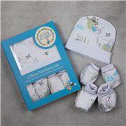 Bubba Blue - Peter Rabbit Newborn White Set 3pce