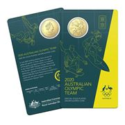 RA Mint - 2020 Australian Olympic Team 50c Gold Plated Coin