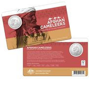 RA Mint - 2020 The Afghan Cameleers 50c Uncirculated Coin