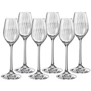 Bohemia - Waterfall Liqueur Glass Set 60ml 6pce