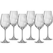 Bohemia - Waterfall  Red Wine Glass Set 350ml 6pce