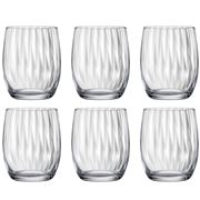 Bohemia - Waterfall Old Fashioned Tumbler Set 300ml 6pce