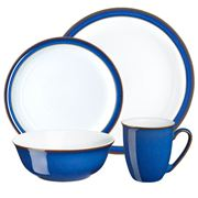 Denby - Imperial Blue Tableware Set 16pce