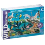 Blue Opal - Wild Aust. Wetlands & Marshes Puzzle 150pce