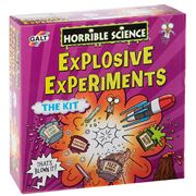 Horrible Science - Explosive Experiments Kit 15pce