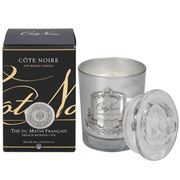 Cote Noire - French Morning Tea Candle Silver 185g