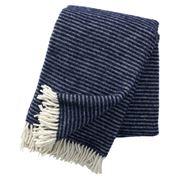 Klippan - Ralph Eco Wool Throw Navy 130x200cm