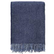 Klippan - Shimmer Eco Wool Throw Blue 130x200cm