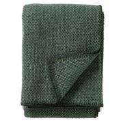 Klippan - Domino Wool Throw Green 130x180cm