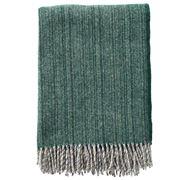 Klippan - Björk Eco Wool Throw Forest Green 130x200cm