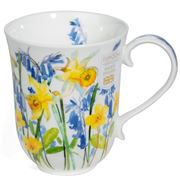 Dunoon - Braemar Cottage Flowers Mug Yellow