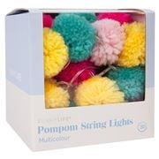 SunnyLife - Pompom String Lights Multicolour 315cm