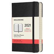 Moleskine - 2021 Daily Diary Hard Cover Black Pocket